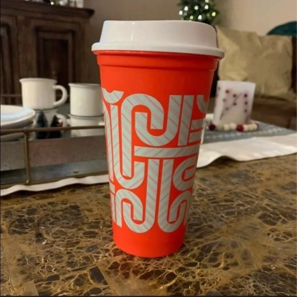 Starbucks Holiday Color Changing Cup with Lid